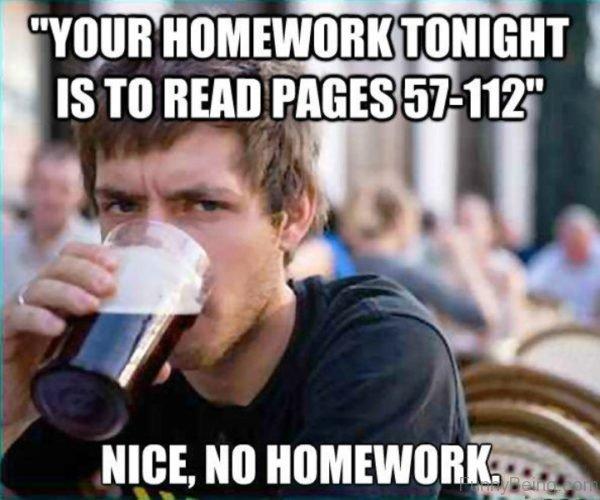 Your Homework Tonight