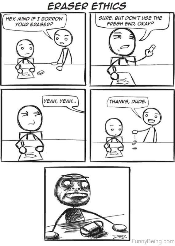 Eraser Ethics