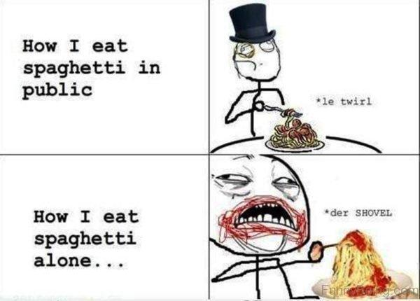 How I Eat Spaghetti In Public