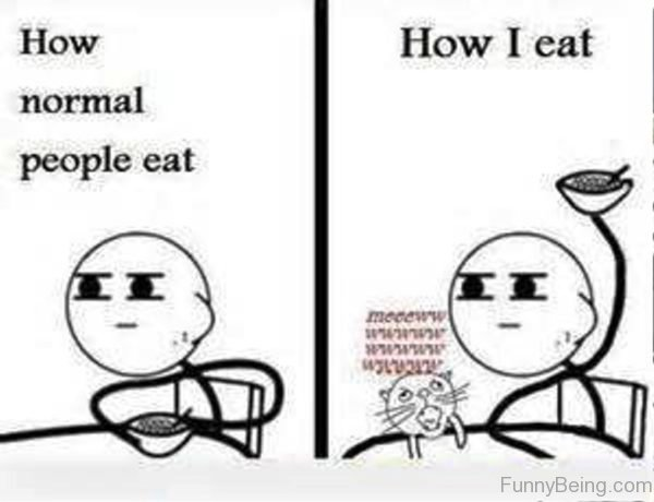 How Normal People Eat