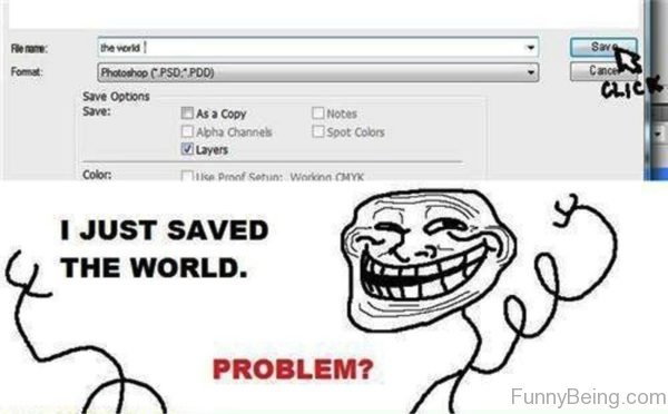 I Just Saved The World