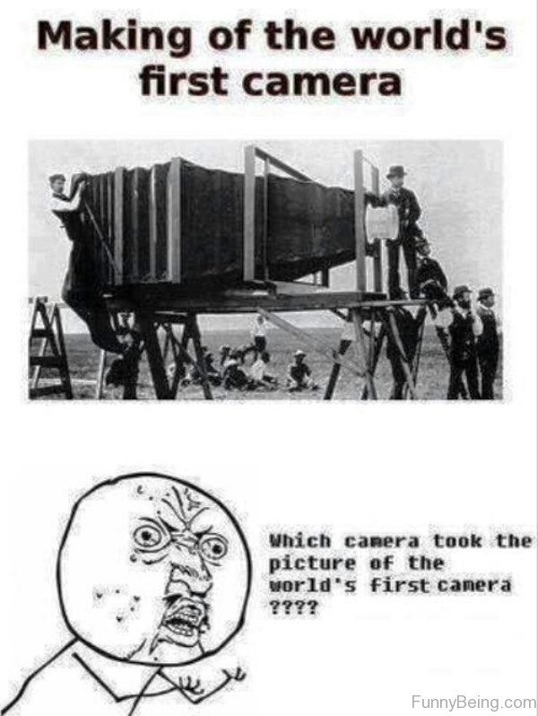 Making Of The Worlds First Camera