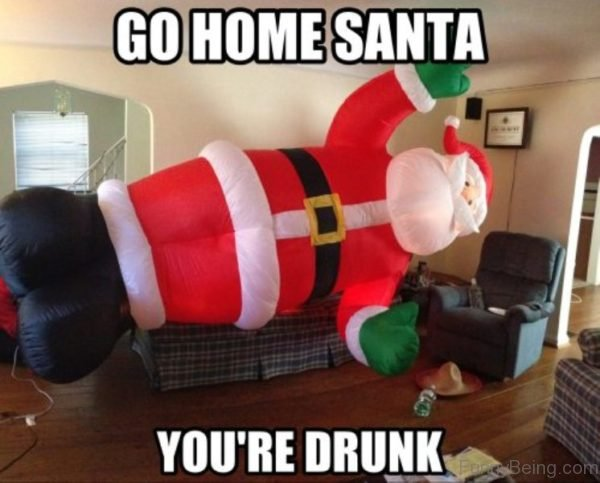 Go Home Santa