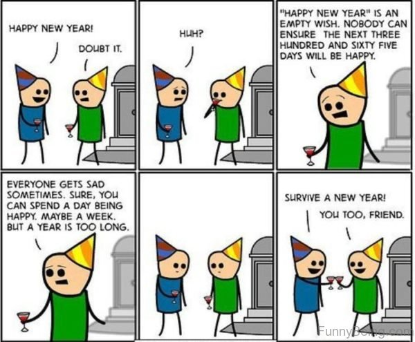 Happy New Year Is An Empty Wish