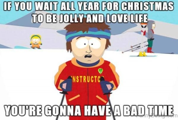 If You Wait All Year For Christmas