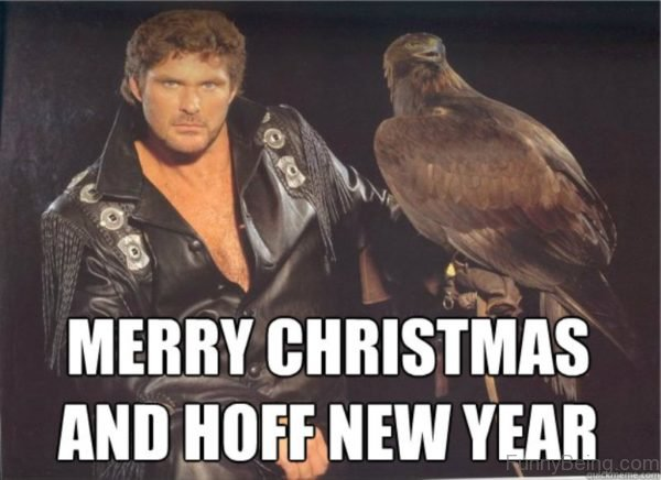 Merry Christmas And Hoff New Year
