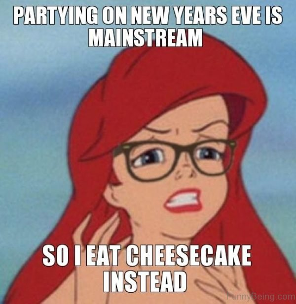 Partying On New Years Eve Is Mainstream