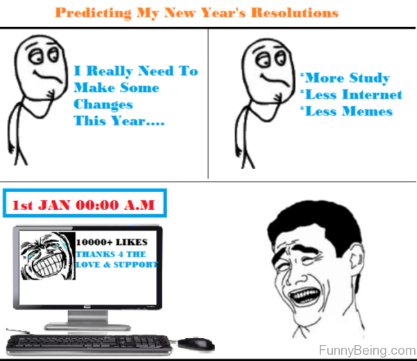 Predicting My New Years Resolutions