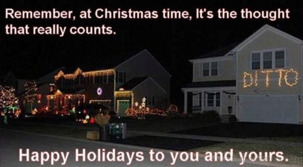 Remember At Christmas Time