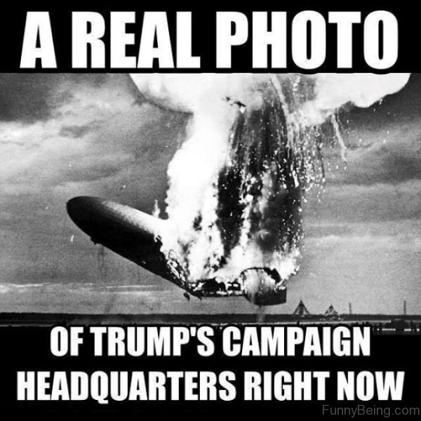 A Real Photo Of Trumps Campaign