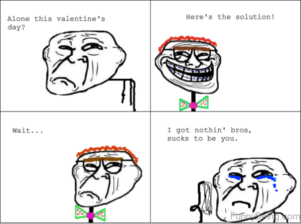 Alone This Valentines Day