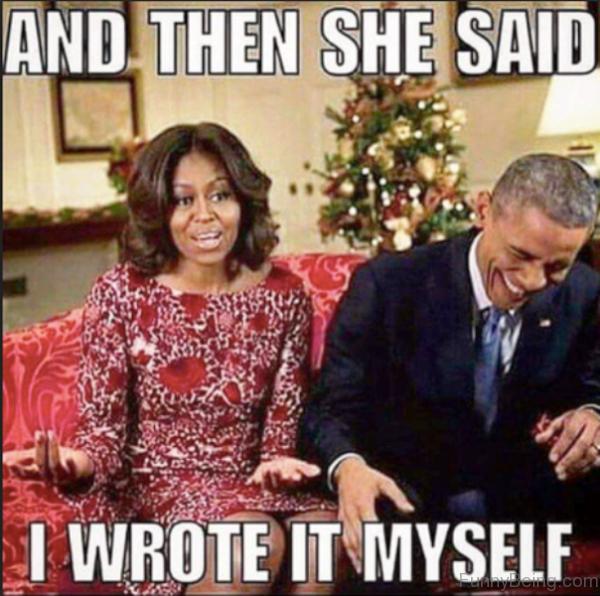 And Then She Said I Wrote It Myself