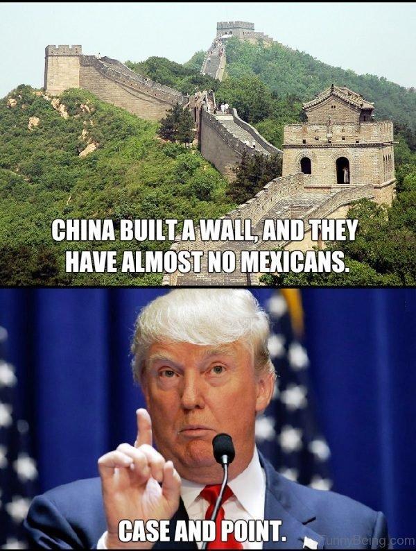 China Built A Wall