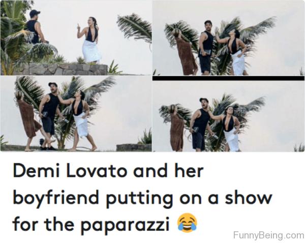 Demi Lovato And Her Boyfriend