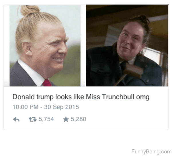 Donald Trump Looks Like