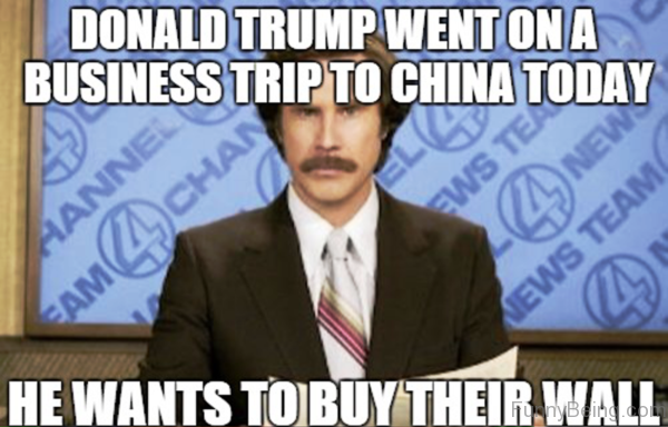 Donald Trump Went On A Business Trip