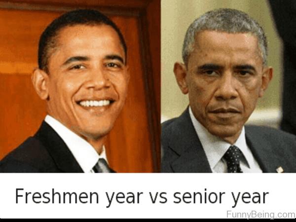 Freshmen Year Vs Senior Year