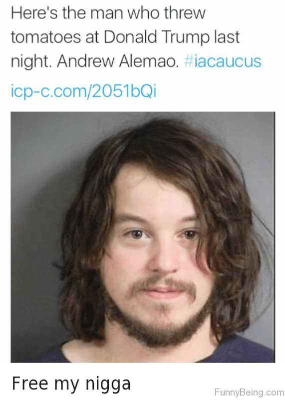 Heres The Man Who Threw Tomatoes