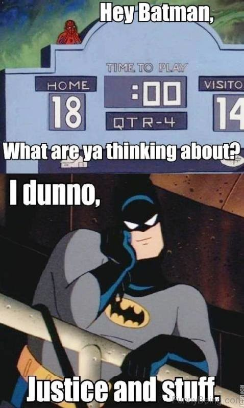 Hey Batman What Are Ya Thinking About