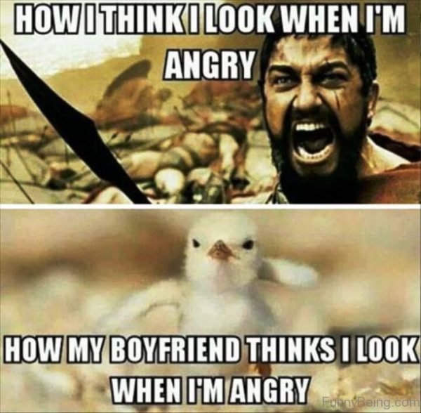 How I Think I Look When Im Angry