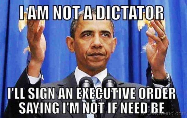 I Am Not A Dictator