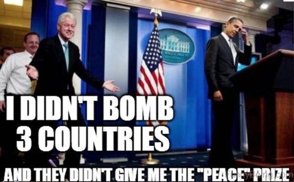 I Didn't Bomb 3 Countries