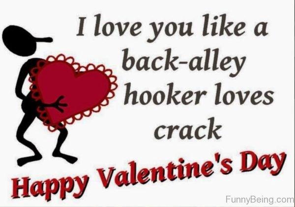 I Love You Like A Back Alley