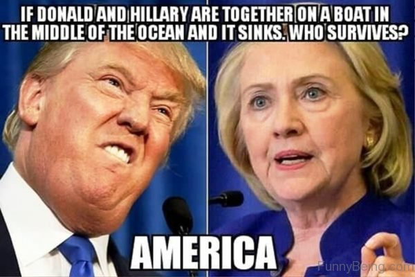 If Donald And Hillary Are Together