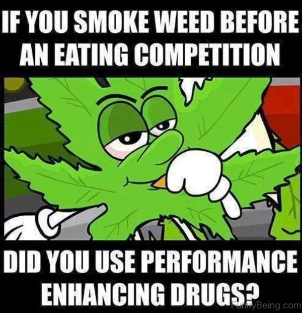 If You Smoke Weed Before An Eating