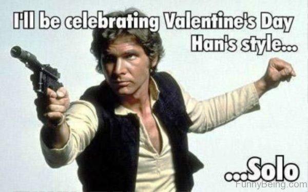I'll Be Celebrating Valentines Day