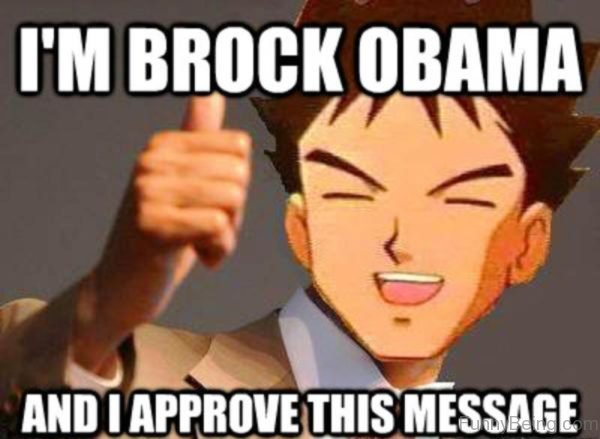 I'm Brock Obama