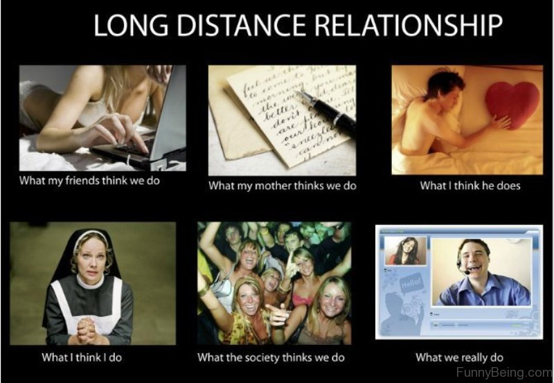 early dating long distance