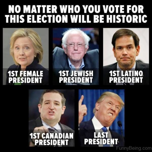 No Matter Who You Vote For This Election