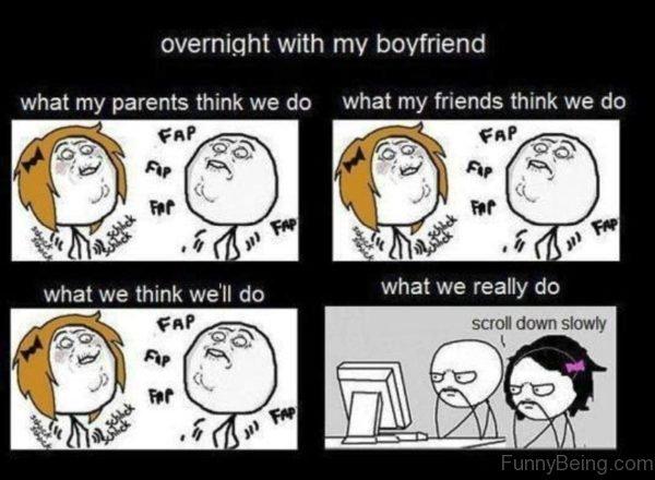 Overnight With My Boyfriend
