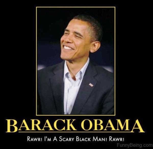 Rawr I'm Scary Black Man