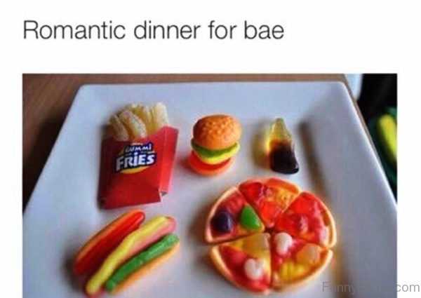 Romantic Dinner For Bae