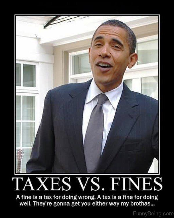 Taxes Vs Fines