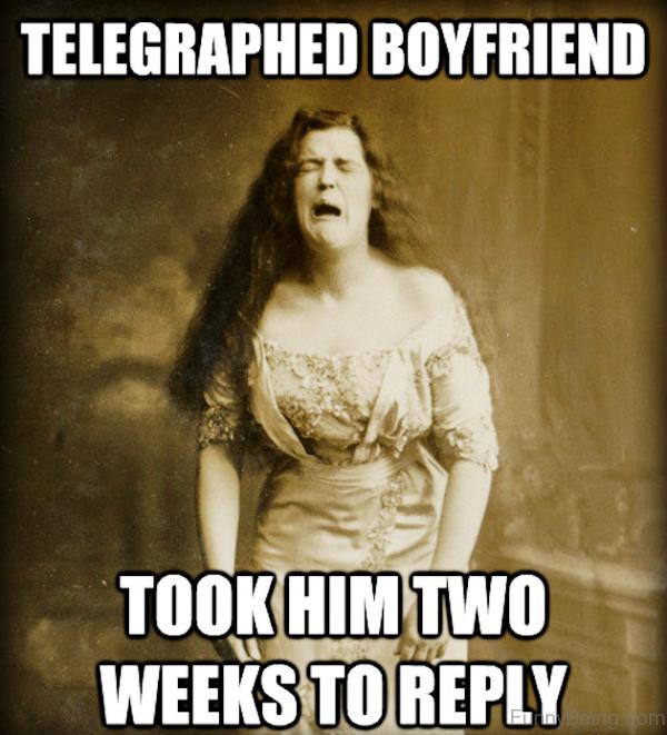Telegraphed Boyfriend