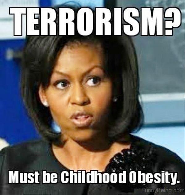 Terrorism Must Be Childhood Obesity