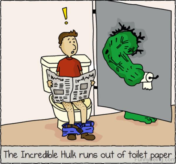 The Incredible Hulk Runs Out