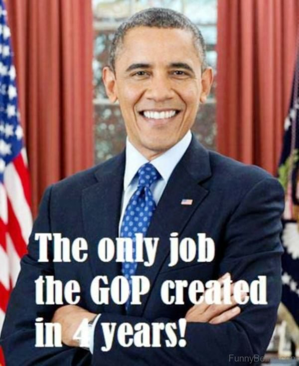 The Only Job The GOP Created