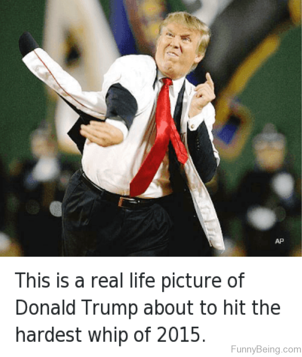 This Is Real Life Picture Of Donald Trump