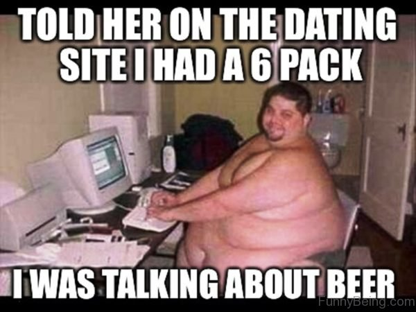 Told Her On The Dating Site