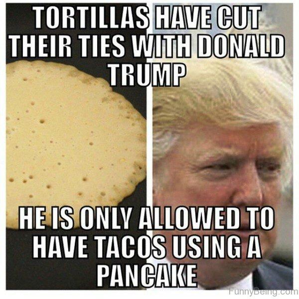 Tortillas Have Cut Their Ties