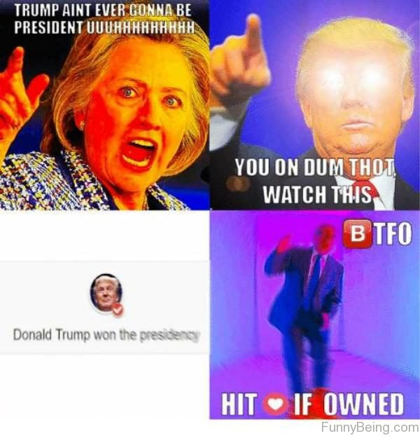 Trump Ain't Ever Gonna Be President
