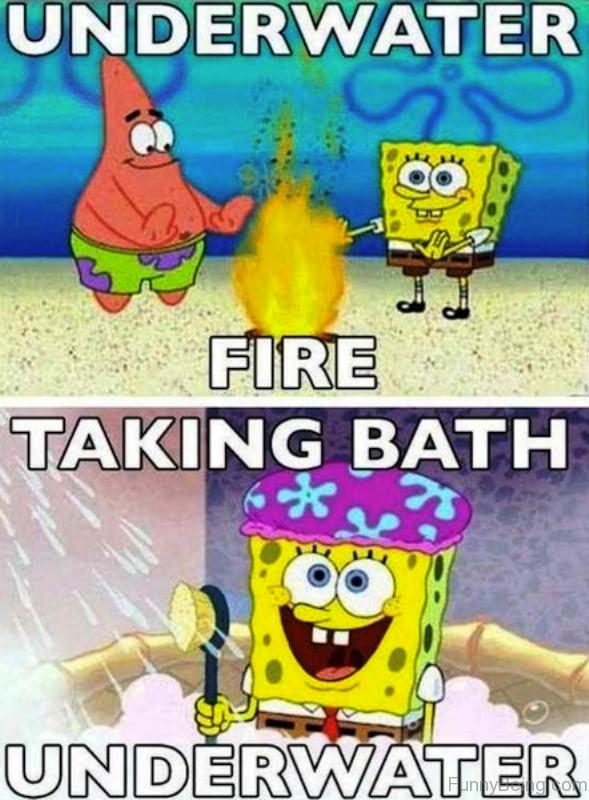 Underwater Fire