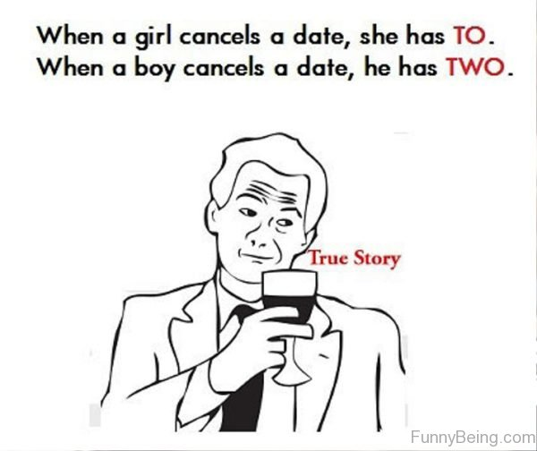Dating the busy girl who cancels