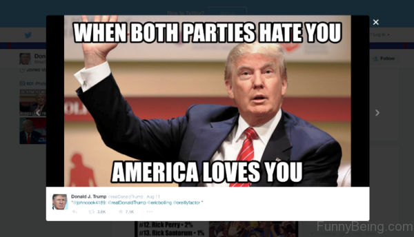 When Both Parties Hate You