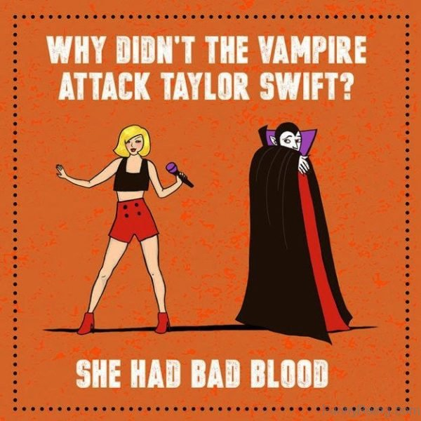 Why Didnt The Vampire Attack Taylor Swift