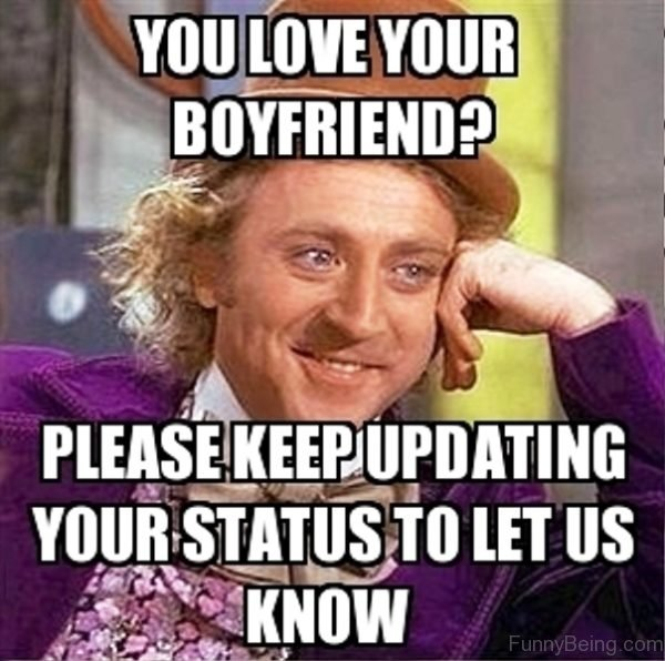 You Love Your Boyfriend